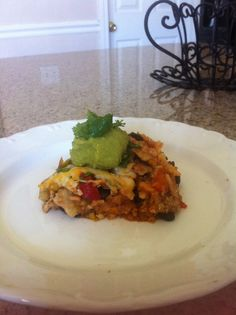 Mexican Deep Dish Layer Pizza from Spoonful of Fit - one of my favorite recipes!