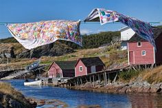 Quilts in Change Islands, Newfoundland, Canada jigsaw puzzle