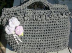 crocheted purse...love this bag!