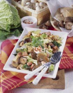 Geschmorter Chinakohl mit Pilzen Rezept