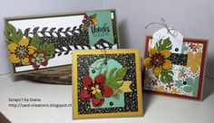 Scraps'! by diana http://card-creations.blogspot.nl/ Stampin'Up!, SU, Botanical blooms