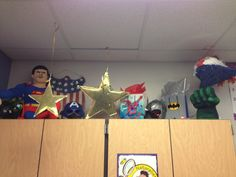 Super hero classroom! http://sergidralus.blogspot.com/2013/07/transformation-begins.html