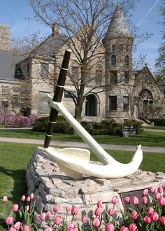 The anchor holds!  Graves Hall, HOPE COLLEGE.  Holland, Michigan