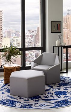 MANHATTAN: NYC apartment by Incorporated. 10/2/2012 via Desire To Inspire