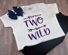 Born Two Be Wild Toddler Tee Girl Boy T-Shirt Second Birthday Party To Funny One | Clothing, Shoes & Accessories, Baby & Toddler Clothing, Unisex Clothing (Newborn-5T) | eBay!