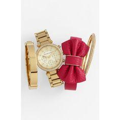 Cara Bow Bracelet ($38) ❤ liked on Polyvore