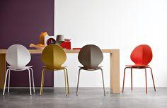 mr smith studio: basil chair for calligaris