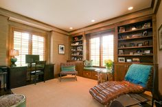 RoomReveal - cozy home office by Dana Roeser