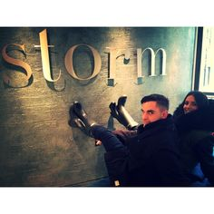 @StormModels - open to UK and overseas entrants. Storm staff pictured are Storm Booker for Kate Moss, Jamie Horridge and Noelle Doukas