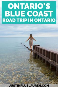 Have you taken a road trip to Ontario's Blue Coast yet? You'll soak up stunning blue Caribbean waters, relax at beautiful beaches, visit local wineries, and so much more. Here's how to plan your epic Ontario road trip adventure this summer.  #Ontario #RoadTrip #Canada #LakeHuron #GrandBend  Grand Bend Ontario | Lake Huron | Ontario Road Trip | Ontario Day Trips | Ontario Weekend Trips | Ontario Travel | Places to Visit in Ontario | Ontario Beaches | Ontario Small Towns | Weekend Getaways