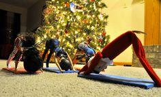 Practicing Yoga #ElfOnTheShelf