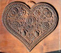 Ikonografie perníku Dutch Cookies, Springerle Cookies, Butter Molds, All Holidays, Wood Design, Hygge, Wood Carving, Gingerbread, Old Things