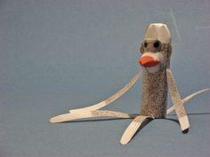 Paper Sock Monkey.
