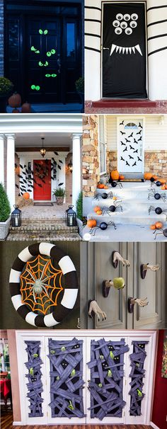 10 Creative Mom and Kids Halloween Costume Ideas Halloween ideas - scary door decorations for halloween