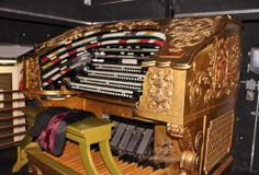 2013 PNW Mouse Treks Hollywood Tour - Backstage at El Capitan Theater - Organ