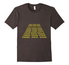 Men's Binary Wars T-Shirt 2XL Asphalt