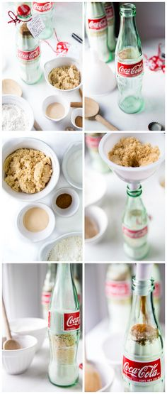 DIY Donut Mix in a Coca-Cola Bottle