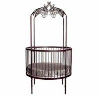The 'Everything You Need to Know about Baby Cribs' Buying Guide. Includes information about round or oval cribs.