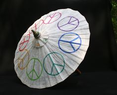 Peace Parasol Diversity and Peace by designAnn on Etsy