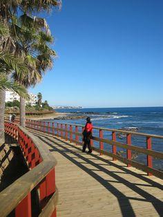 Boardwalk, La Cala, Spain