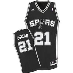 Adidas San Antonio Spurs Tim Duncan Youth (Sizes 8-20) Revolution 30  Swingman ef0d4eaef