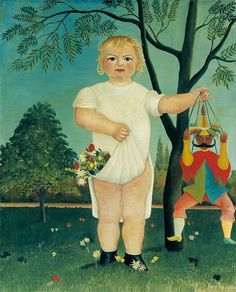 To Celebrate the Baby - Henri Rousseau