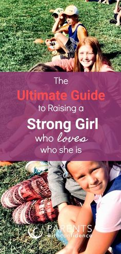The Ultimate Guide to Raising a Strong Girl who LOVES Who She Is. Studies consistently show that girls feel they are under pressure to please both peers and adults, and as they grow into their teens are increasingly more likely to describe themselves as stressed and unhappy. Learn how to help your daughter to live more authentically and comfortably in her own skin through developing skills of emotional intelligence, conflict resolution, self-acceptance, and growth mindset. #parenting #kids