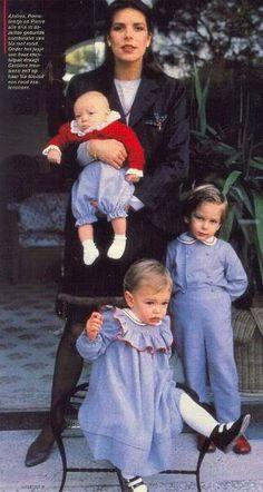 Caroline with her children