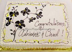BEAUTIFUL sheet cake!