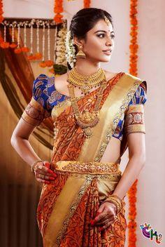 Latest-Designer-Sarees-For-Tamil-Wedding