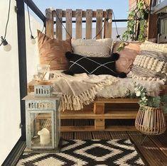 Small Balcony Design, Tiny Balcony, Small Balcony Decor, Outdoor Balcony, Balcony Ideas, Small Balconies, Patio Ideas, Small Balcony Furniture, Condo Balcony
