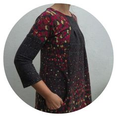 New Bohéme Tunic dress (with improvised sleeves) from Ottobre Design magazine made by Ivy Arch