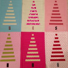 crazy mom quilts: would be cute with a christmas jelly roll