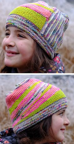 Free Knitting Pattern for Werewolf of Westport Hat