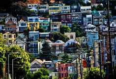 San Francisco's Mission District in all its color
