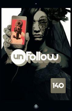Unfollow #5 - Cover by Matt Taylor