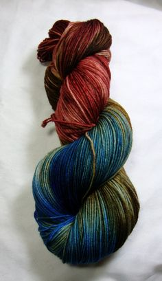 Doctor Donna - Dyed on Demand  Starting at: $13.00  Nerd Girl Yarns