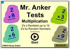 Mr. Anker Tests 3rd Grade Activities (Tests)