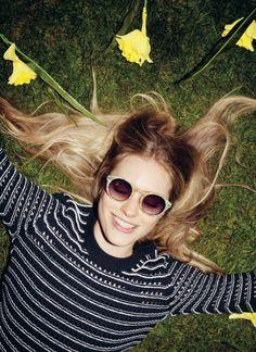 #JackWills Super-Cute Edderside Sweater #GREENSHOOTS Great weave in classic colors!