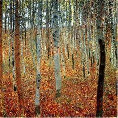 Bosque de Abedules de Gustav Klimt