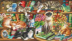 Puss in Books.