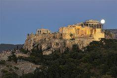 The Acropolis, Athens (© Louisa Gouliamaki/AFP/GettyImages)