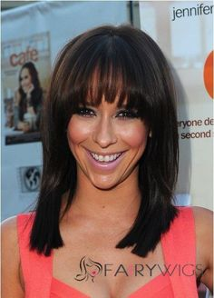 Grand Medium Straight Sepia Indian Remy Hair Wigs