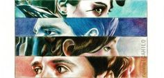 Hunger Games Fan Art / Catching Fire / Katniss / Peeta / Johanna / Finnick