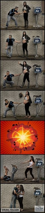 cutest baby announcement ever