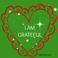 5 Ways To Be Grateful Today http://www.trishrock.com/blog/5-ways-to-be-grateful-today