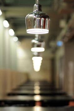 I love the bit of glass - Alvar Aalto - Artek Cool Lighting, Chandelier Lighting, Lighting Design, Minimalist Design, Modern Design, Lamp Light, Light Bulb, Scandinavia Design, Alvar Aalto