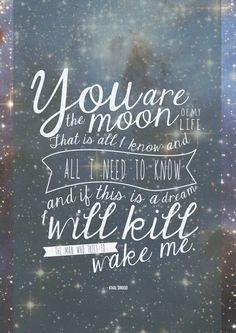 Mí sol, mí luna, y todas las estrellas.