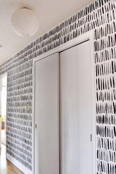 Hand-Painted Wall Pattern   Beautiful Matters
