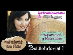 Abanico nº 37 de Maxbolillos. Bolillotutorial 4: Montaje Esquina Exterior. Raquel M. Adsuar - YouTube